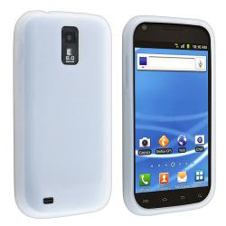 BasAcc White Silicone Skin Case for Samsung Galaxy S II T-Mobile T989