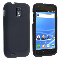 BasAcc Black Rubber Coated Case for Samsung Galaxy S II T-Mobile T989