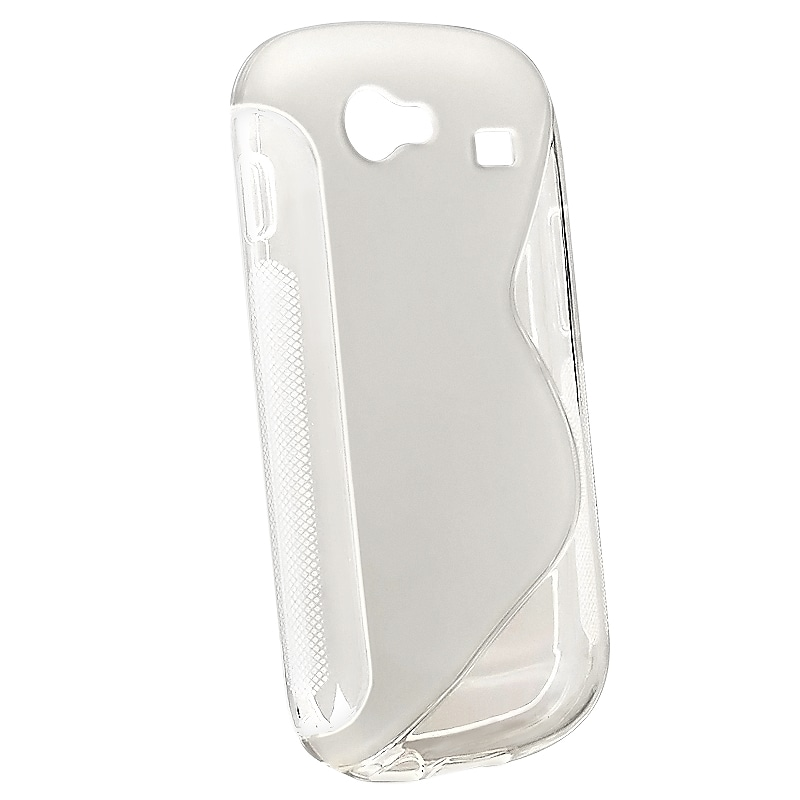 BasAcc Frost Clear White S TPU Skin Case for Samsung Google Nexus S