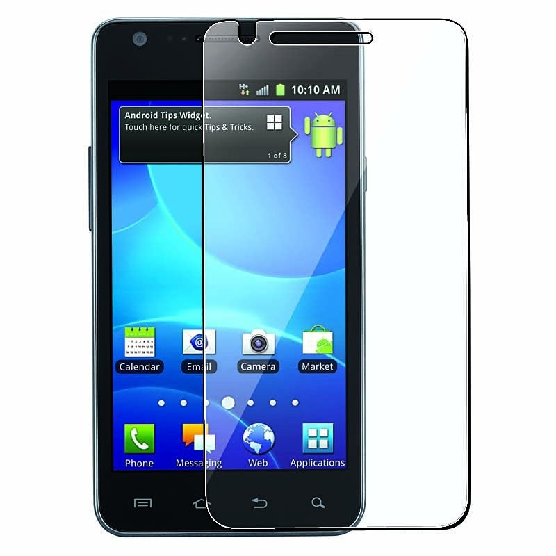 INSTEN Clear Screen Protector for Samsung Galaxy S II AT&T i777 Attain