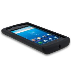BasAcc Black Silicone Skin Case for Samusng Captivate SGH-i897