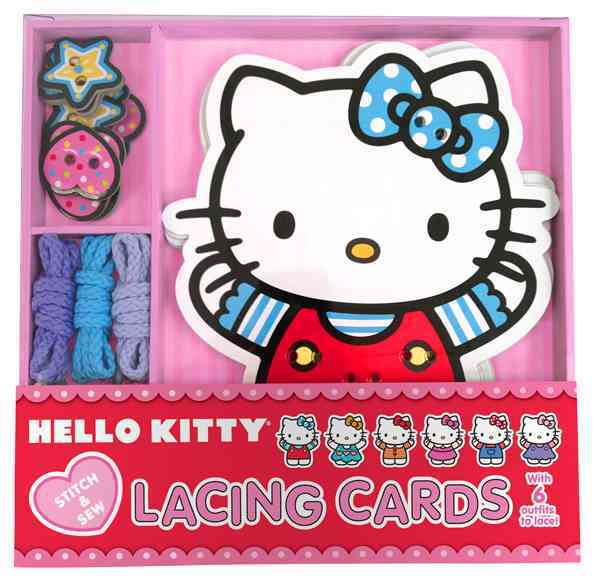 Hello Kitty Lacing Cards (Cards)