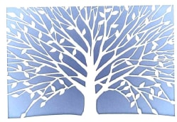 Tree of Life Laser Cut Notecards (Cards)