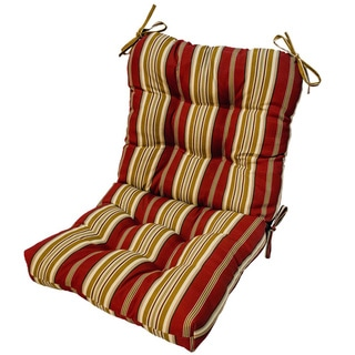 Outdoor Roma Stripe Seat/ Back Combo Cushion