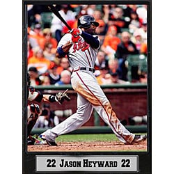 Atlanta Braves Jason Heyward Stat Plaque