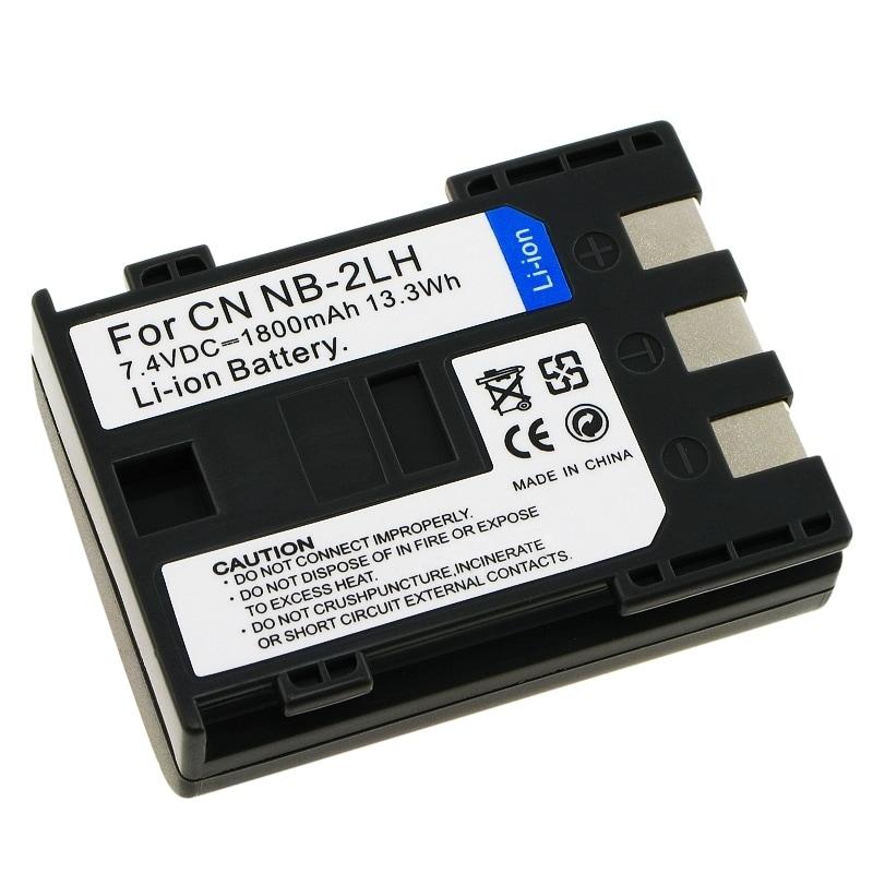 INSTEN Battery NB-2LH for Canon EOS Rebel XT/ S60/ 70/ 80