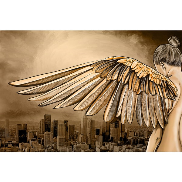 Maxwell Dickson 'City of Angels' Canvas Wall Art