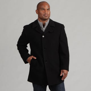 Calvin Klein Men's Wool/Cashmere Blend Coat