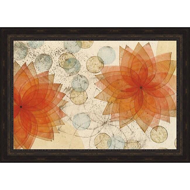 Karen Sikie 'Atmosphere II' Framed Print