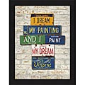 Greg Constantine 'Vincent, Dream' Framed Print