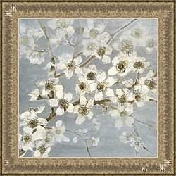 Elise Remender 'Silver Blossoms II' Framed Print