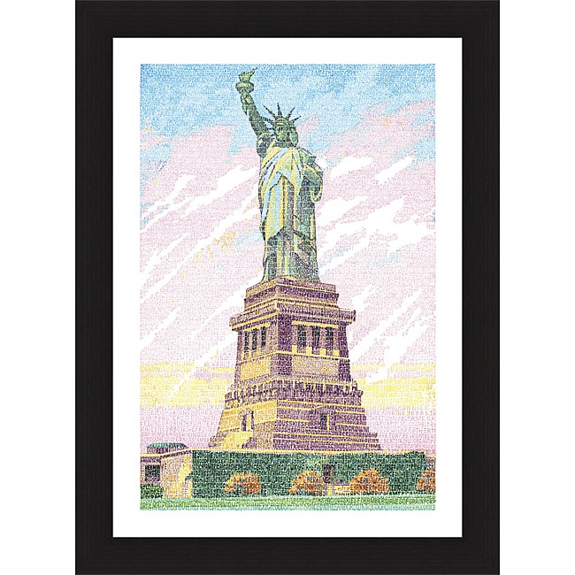 L.A. Pop Art 'America the Beautiful' Framed Print