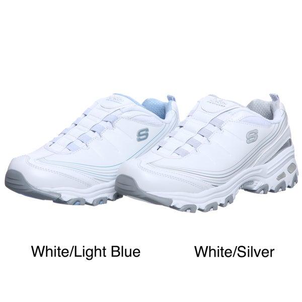 skechers s d lites pep slip on athletic shoes
