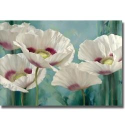 Igor Levashov 'Tasmanian Poppies II' Canvas Art
