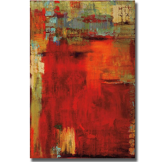 Penny Benjamin Peterson 'Uncommon Place' Canvas Art