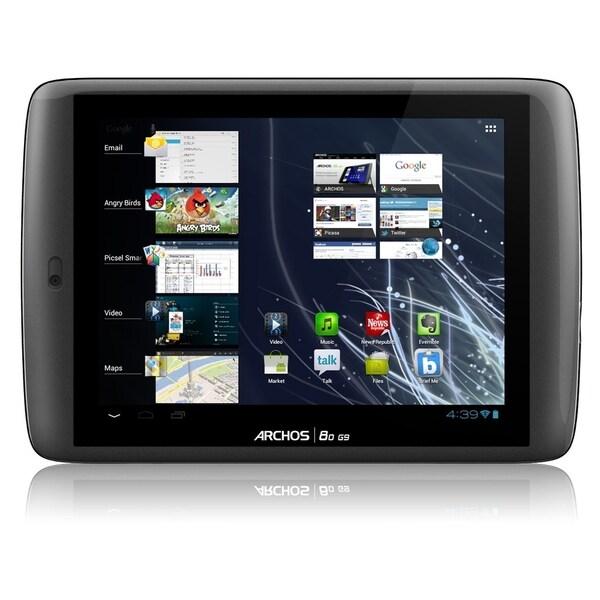 "Archos 80 G9 4 GB Tablet - 8"" - Wireless LAN - Texas Instruments OMAP"
