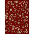 Amalfi Vines Red Area Rug (7'9 x 11')