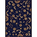 Amalfi Vines Navy Area Rug (7'9 x 11')