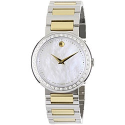 Movado Women's Concerto Two-tone Stainless Steel Watch