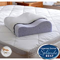 Splendorest TheraGel 3-position Gel Memory Foam Contour Pillow