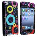 BasAcc Black/ Rainbow Bubble Case for Apple iPod Touch 4th Generation