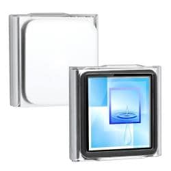 BasAccc Clear Snap-on Crysal Case for Apple iPod Nano 6th Generation
