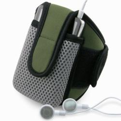 BasAcc Olive Sportband with Case for Apple iPod Video