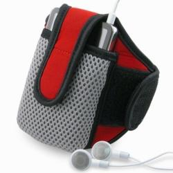 INSTEN Red Sportband with iPod Case Cover for Apple iPod Video