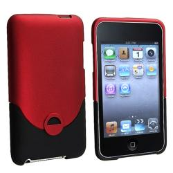 INSTEN Rubber Coated iPod Case Cover for Apple iPod Touch Generation 2/ 3