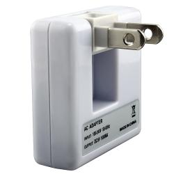 BasAcc Universal White USB Travel Charger for Apple iPod