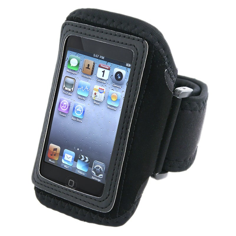 INSTEN Black Deluxe Armband for Apple iPod Touch 2nd/ 3rd Generation