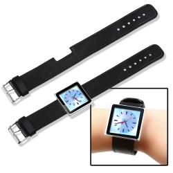 BasAcc Black Wristband for Apple iPod Nano 6th Generation