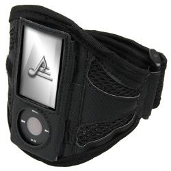 BasAcc Black Airmesh Armband for Apple iPod Nano 5th Generation