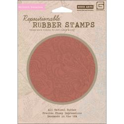 Hero Arts 'Flower Dot Pattern' Cling Stamps Out Of Print Collect