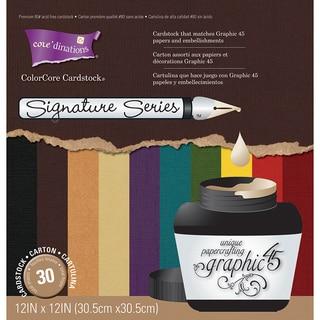Graphic 45 Signature Series Cardstock Assortment (12 x 12)