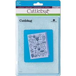 Provo Craft Cuttlebug Embossing Sparkle Folder