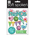 Soft Spoken 'Birds and Friends' Themed Embellishments