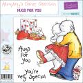 Humphrey's Corner 'Hugs For You' EZMount Cling Stamp Set