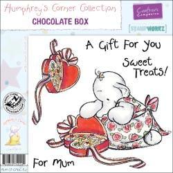 Humphrey's Corner 'Chocolate Box' EZMount Cling Stamp Set