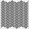 Crafter's Workshop 'Chevron' 12-inch Templates