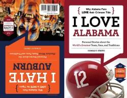 I Love Alabama/I Hate Auburn: Flip Book (Paperback)