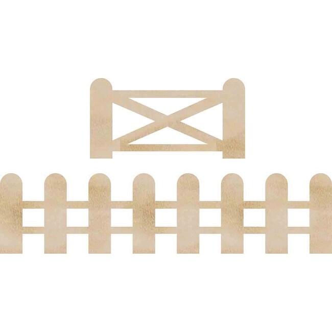 Kaisercraft Fence and Gate Wood Flourishes