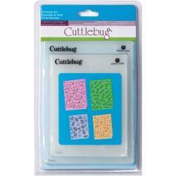 Cuttlebug Cricut Companion Christmas Embossing Folders (Pack of 4)