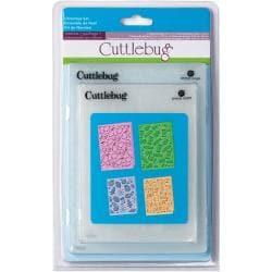 Cuttlebug Cricut Companion Christmas Embossing Folders (Pack of 4)