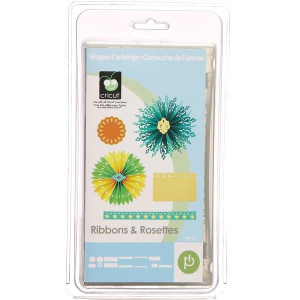 Cricut Ribbons and Rosettes Shape Cartridge