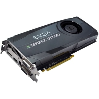 EVGA GeForce GTX 680 Graphic Card - 1006 MHz Core - 2 GB GDDR5 SDRAM