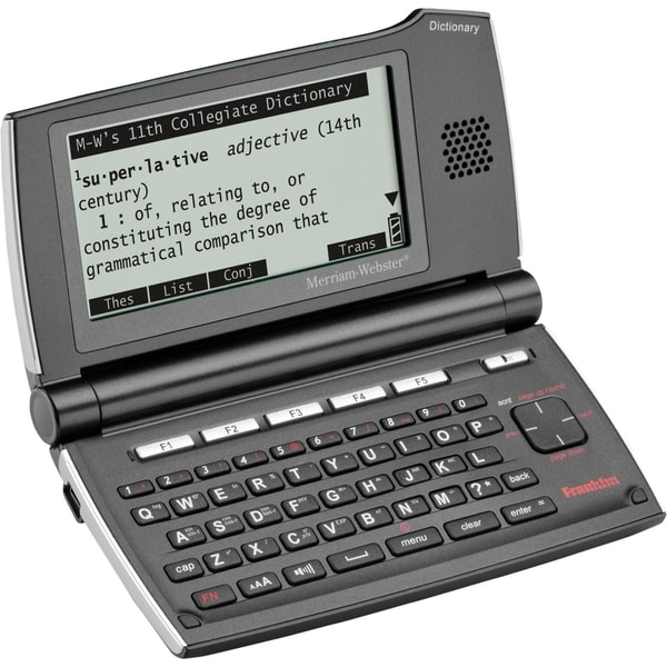 Executive Privilege Webster Definition: Franklin SCD-2110 Electronic Dictionary