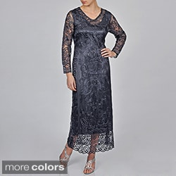 Soulmates Women's Hand Crochet Dress