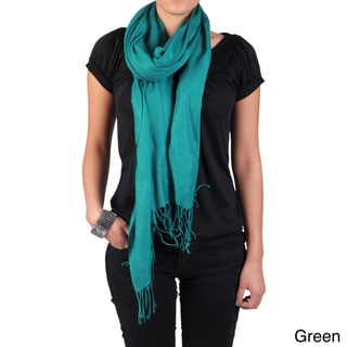 Hailey Jeans Co Women's Fringe Detail Pashmina Scarf