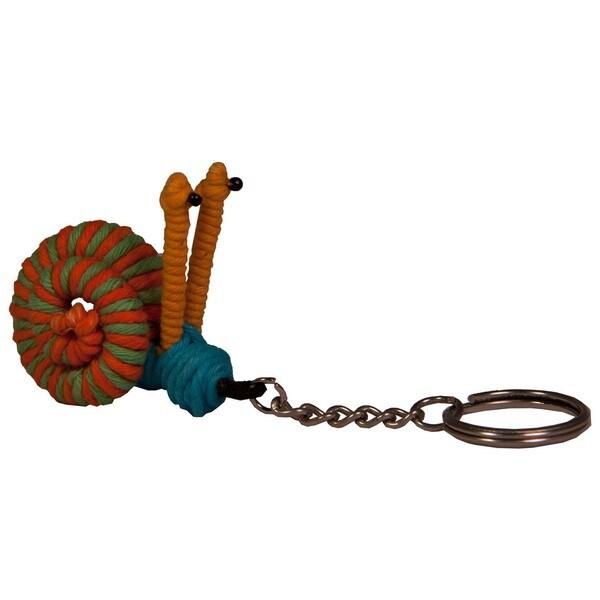 Yarn Snail Keychain (Columbia)